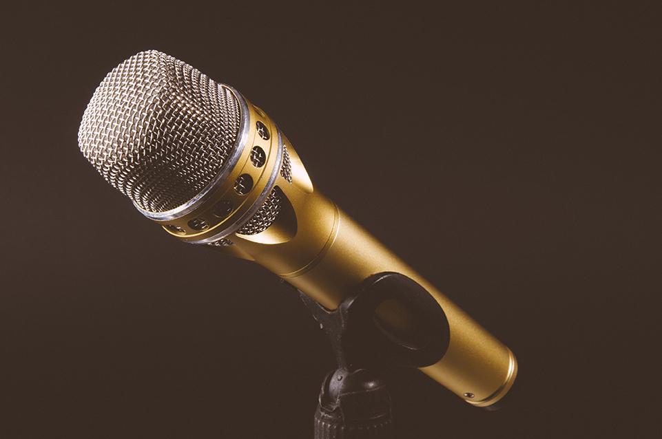 Hochzeitssängerin Hamm - Mikrofon golf