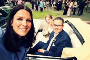 Hochzeitssaengerin_Lina_mit_Paar_in Davensberg